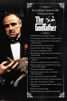 Poster A3 El Padrino Vito Corleone The Godfather Cartel Decor Impresion 04