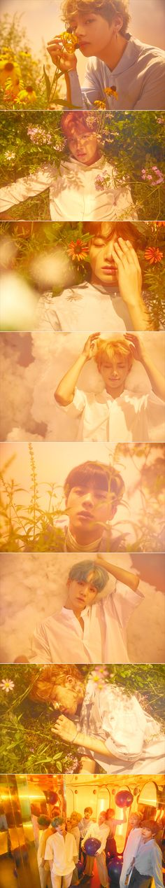 ♡ Naver music released special photos for #BTS Love yourself 'HER' ♡