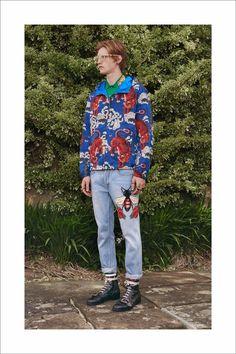La collection Croisière 2017 de Gucci homme