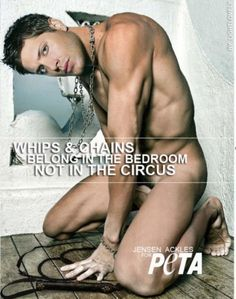 I typically think guys look better in a 3pc suit than buck naked. But then there's this ... #spn @Peta Hartmann #JensenAckles HT @Emily Barrow