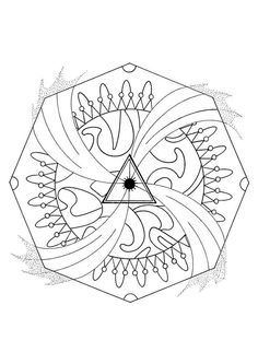 Discover This Water Energy Mandala Beautiful And Distressful For