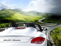 papel de parede Porsche Boxster Spyder