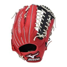 """Mizuno MVP Prime SE Series Baseball Glove 12.75"""" Red/Black GMVP1277PSE"""