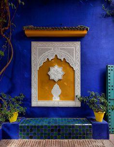 #Villa Majorelle, Marrakech, #Morocco - www.jardinmajorelle.com Ailleurs…