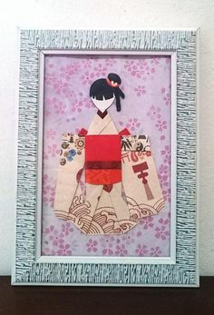 Your place to buy and sell all things handmade Japanese Origami, Japanese Paper, Japanese Kimono, Book Lovers Gifts, Gift For Lover, Cute Bookmarks, Red Packet, Geisha Art, Light Crafts