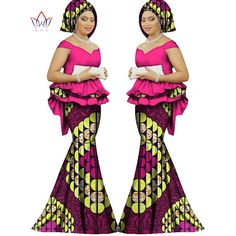 African dashiki Traditional bazin Plus size dashiki Dress