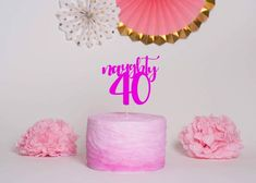 Excited to share this item from my shop: Naughty Forty Cake Topper - Birthday Cake Topper, Birthday Party Decor, Birthday, Mom Birthday Crafts, 90th Birthday Gifts, Happy 40th Birthday, Birthday Gift Baskets, 40th Birthday Parties, 40th Birthday Cake Topper, Birthday Cake Decorating, Candy Bar Posters, Mom Cake