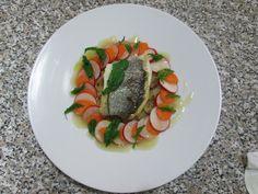Gino D'Aquino / Orata  carote  patate  ravanelli  e salsa al limone