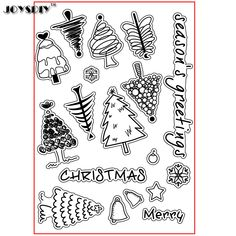 SEASON'S GREETINGS CHRISTMAS Scrapbook DIY  photo cards account rubber stamp clear stamp transparent stamp Handmade card stamp Christmas Scrapbook, Christmas Greetings, Christmas Trees, Diy Photo, Diy Scrapbook, Photo Cards, Cool Art, Seasons