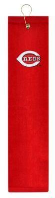 McArthur Sports MLB Embroidered Tri-Fold Golf Towel - Cincinnati Reds