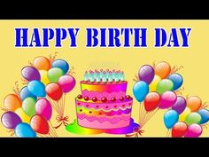 Happy Birthday Song for Kids   Happy Birthday Songs for Children 2D Animated Video - YouTube