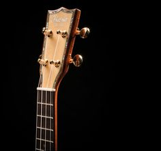 With a solid spruce soundboard and abalone back and sides, the Ohana SK-75G ukulele has stylish flare and a robust sound to match!