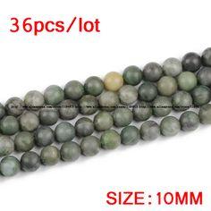 Aliexpress.com: Comprar JHNBY Mate verde Africano piedra Natural granos Flojos Redondos de Piedra de Alta calidad 6/8/10/12 MM joyería de la pulsera hacer accesorios de BRICOLAJE de accessories diy fiable proveedores en JHNBY (Johan's Beads) Store Green Stone, Natural Stones, Beads, Diy, Bracelet Making, Round Beads, Grains, African, Beading