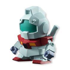 Gundam Mobile Suit Build Model RGM-79 GM Mini Figure