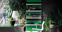 Colourful design-led collection of office storage cabinets. High and lockable storage for any modern office interior Office Shelf, Office Storage, Executive Office Furniture, Striped Room, Office Cabinets, Office Interiors, Shelving, Design, Home Decor