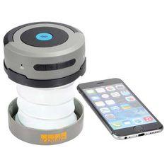 [1226-16] Bluetooth Speaker Accordion Lantern Flashlight