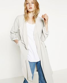 FLOWING FROCK COAT-View all-WOMAN-NEW IN | ZARA United States