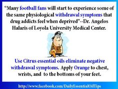 Citrus #essentialoils canhelp with Post Football season withdrawals LOL  #wonderfulscents https://wonderfulscents.com/