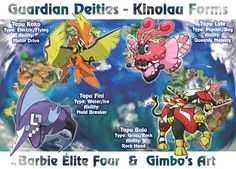 Guardian Deities Kinolau Form (collab) by gimbo-gp.deviantart.com on @DeviantArt