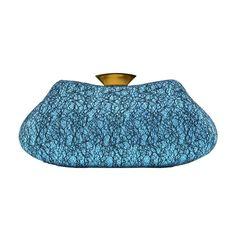 Women s Evening Party Wedding Party Rhinestone Clutch Purse Wallet Handbag  (Blue) 18cf69bc23d7