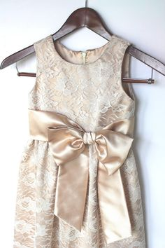 Lace Flower Girl dressSize T3  18. by HiddenRoom on Etsy, $60.00