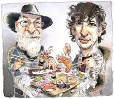 Neil Gaiman: 'Terry Pratchett isn't jolly. He's angry' Terry Pratchett may strike many as a twinkly old elf, but that's not him at all. Fellow sci-fi novelist Neil Gaiman on the inner rage that drives his ailing friend's writing