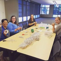 August, 2015 - WSECU. Image obtained via Facebook which stated, 'We brought a couple of dozen employees together for a #microvolunteering activity at our HQ building. They prepared craft supplies for the upcoming Sand in the City festival at #HOCM in Olympia Aug. 22 & 23. Thanks for volunteering, everyone!' Photo Record, Olympia, Craft Supplies, Events, Couple, Activities, Facebook, City, Building