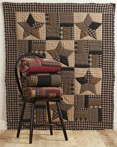 "Amazon.com - Bingham Star 50x60"" Throw Quilt - Quilted Lap Throws"