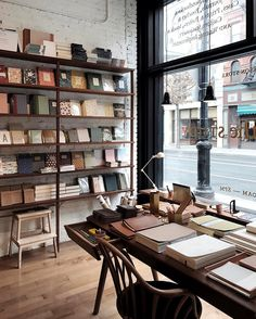 Stationary heaven at the new McNally Jackson store in the Greenwich Village Photo by @thetrottergirl #nyc