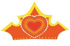 Free printable: Tiara for Koninginnedag