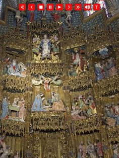 Tour the Toledo Cathedral in Toledo, Spain for only $2.99 on your iPad...Best guide in any language.