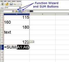 how to add up the number of columns in excel