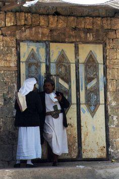 Yemen - Manakha, door