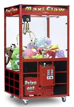 Small claw machine prizes little rock