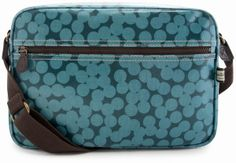 The Blue Spot Box Bag designed by Sophia & Matt, Greenwich London, Aqua, Teal, Yayoi, Box Bag, Cross Body, Dark Blue, Lunch Box, Crossbody Bag