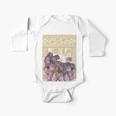 Baby Onesie, Simple Dresses, Peonies, Dressing, One Piece, Art Prints, Printed, Awesome, Fabric