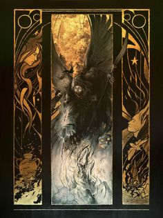 """(Not technically """"design"""" but it's going in here because it's awesome) Thanatos by Yoann-Lossel.deviantart.com on @deviantART"""