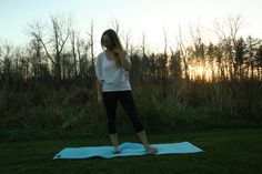Yoga for anxiety - little moments to ease your racing heart.