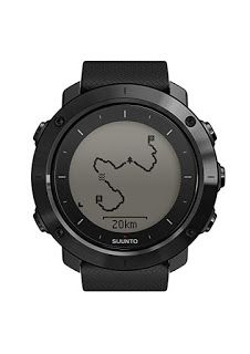 Suunto Traverse Amber - GPS outdoor watch with versatile navigation functions for hiking and trekking Sport Watches, Watches For Men, Wrist Watches, Gps Watches, Popular Watches, Trekking, Graphite, Android Watch, Wearable Technology
