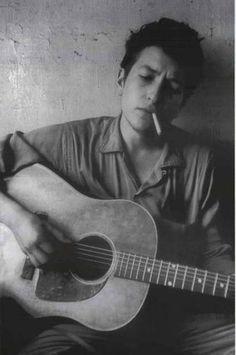 Bob Dylan Guitar Portrait XL Giant Poster 38x54 – BananaRoad