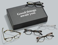 Ready to find your most perfect frames? Take this quick quiz, and voilà! We'll suggest some great-looking options to fill your Home Try-On. New Glasses, Glasses Online, Sunglasses Case, Mens Sunglasses, Eyewear Online, Eyewear Brands, Computer Glasses, Fashion Eye Glasses, Warby Parker