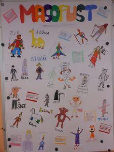 archiv 2014/2015 :: Základní škola Český Dub Masky, Advent, Origami, Children, Boys, Kids, Paper Folding, Big Kids, Children's Comics