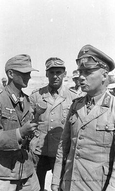 Rommel  Radio Recording  North Africa 1942.