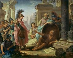 Alexander before Diogenes - Thomas Christian