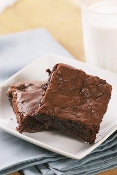 """Cake mix brownies.  These were good and very moist.. super easy! """"Brown Bear Brown Bear"""" Kelsie's book-theme shower."""