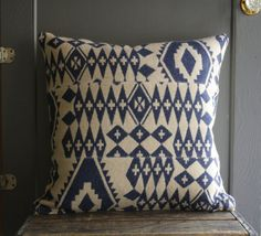 Handmade wool pillow cover