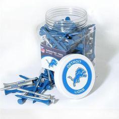 Detroit Lions Golf Tees - Jar of 175 Tees
