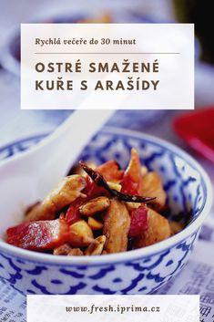 #kure #asijskakuchyne #rychlavecere #primafresh Cereal, Vegetables, Breakfast, Food, Morning Coffee, Meal, Essen, Vegetable Recipes, Hoods