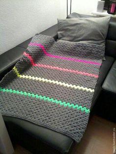 Плед подростковый - серый, подушка декоративная, подушка диванная, подушка на диван, подушка
