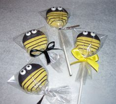 Bumble Bee or Ladybug Oreo Pops Baby Shower Birthday Party or